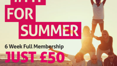 Get Fit For Summer with YMCA