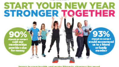 New Year Lifestyle & Fitness Resolutions? Be Stronger Together with the YMCA